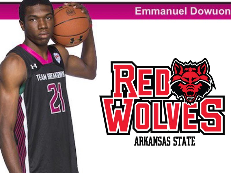 Emmanuel Dowuona receives offer from Arkansas State